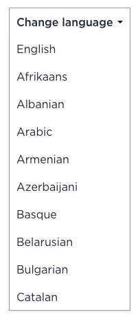translate component